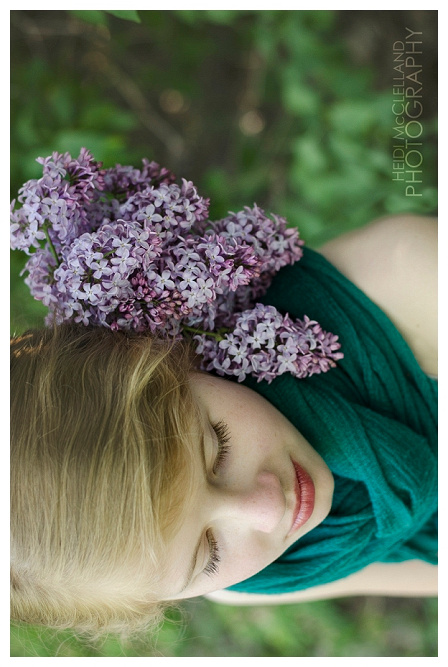 Styled Lilac Photography Shoot