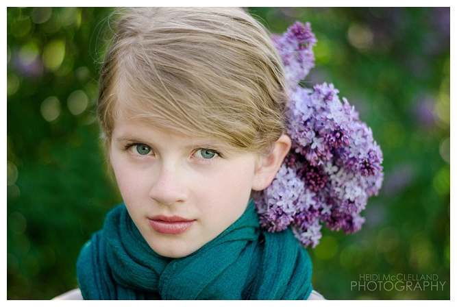 Lilac Styled Shoot